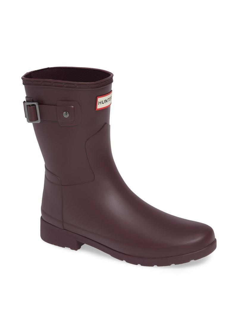 4136a501c293 Hunter Hunter Original Refined Short Waterproof Rain Boot (Women ...