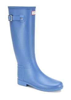 Hunter Original Refined Tall Rubber Rain Boots