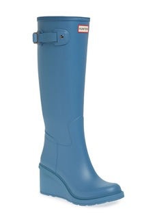 Hunter Original Refined Wedge Rain Boot (Women)