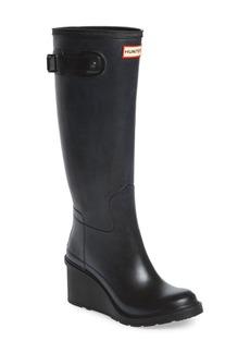 Hunter Original Refined Wedge Rain Boot (Women)