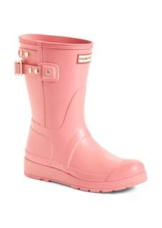Hunter Original Short Adjustable Back Rain Boot (Women)