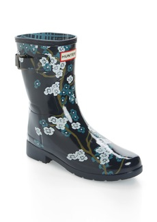 Hunter Original Short Back Strap Rain Boot (Women)