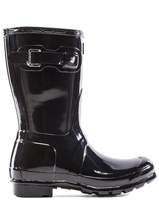 Hunter Original Short Gloss Boot