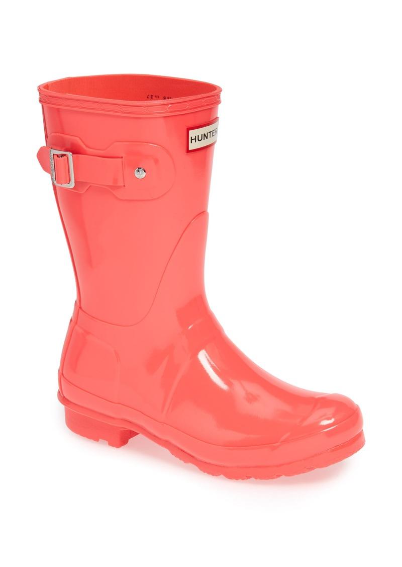 a29104373d3d On Sale today! Hunter Hunter Original Short Gloss Waterproof Rain ...