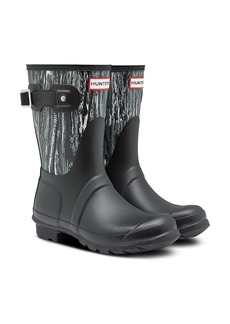 Hunter Original Short Marble Waterproof Rain Boot (Women)