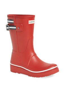 Hunter 'Original Short' Wedge Rain Boot (Women)