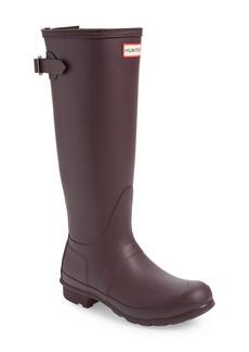 Hunter Original Tall Adjustable Back Waterproof Rain Boot (Women)