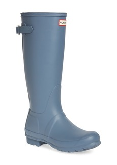 Hunter Original Tall Adjustable Back Waterproof Rain Boot (Women)