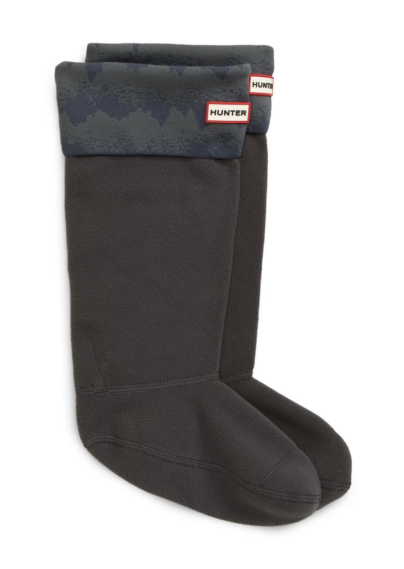 Hunter Original Tall Knit Cuff Welly Boot Socks
