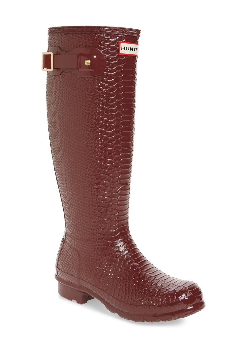 Hunter Perfect Pairs Original Tall Waterproof Rain Boot (Women)