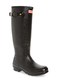 Hunter Perfect Pairs Original Tall Waterproof Rain Boot (Women) (Wide Calf)