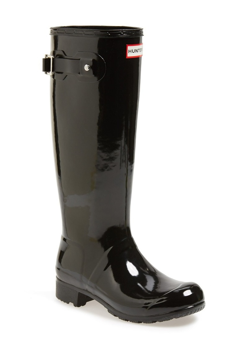 Hunter Original Tour Gloss Packable Rain Boot (Women)