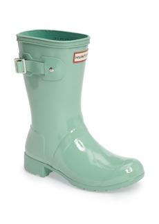 Hunter Original Tour Short Gloss Packable Rain Boot (Women)