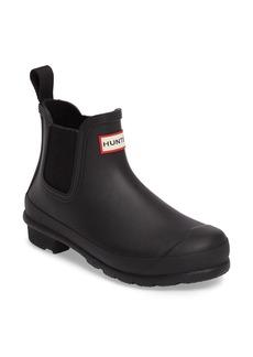 Hunter 'Original' Waterproof Chelsea Rain Boot (Women)