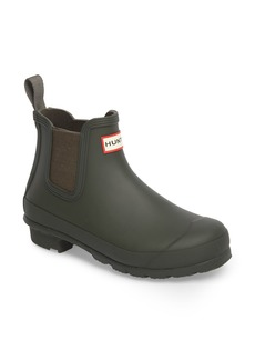 Hunter Original Waterproof Chelsea Rain Boot (Women)