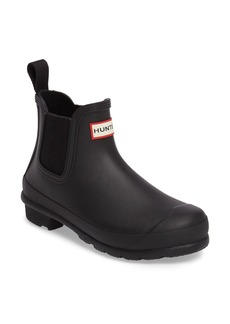 Hunter 'Original' Waterproof Chelsea Rain Boot (Women)