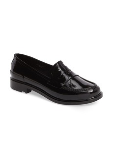 Hunter Original Waterproof Rubber Penny Loafer (Women)