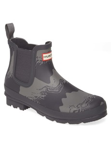 Hunter 'Original' Waterproof Chelsea Rain Boot (Men)