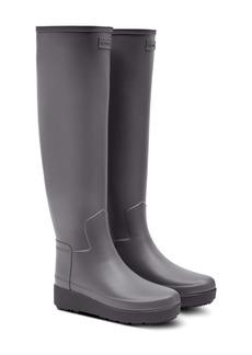 Hunter Refined Creeper Over the Knee Rain Boot (Women)