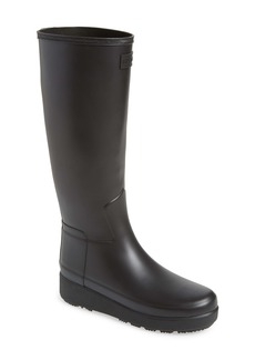 Hunter Refined Creeper Tall Rain Boot (Women)