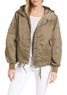 Hunter Refined Drawstring Bomber Jacket