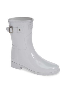Hunter Refined Short Gloss Rain Boot (Women)