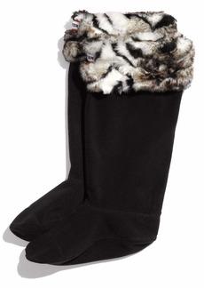 Hunter Tiger Print Welly Socks