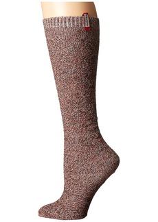 Hunter Underknee Winter Mouline WB Socks