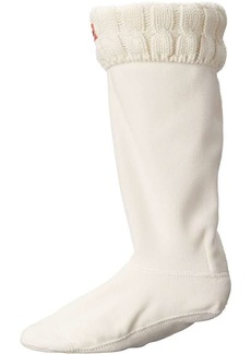 Hunter Women's Original 6 Stitch Cable Tall Boot Sock