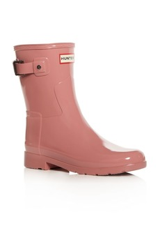 Hunter Women's Original Refined Short Gloss Rain Boots