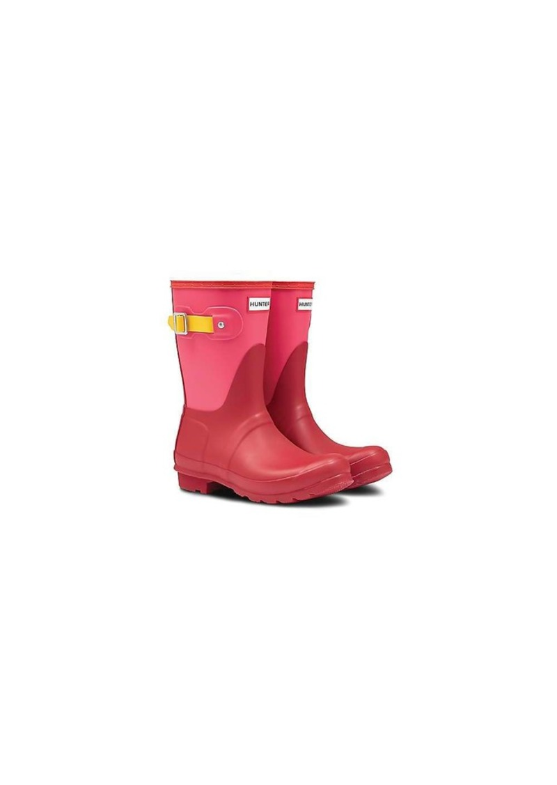 Hunter Women's Original Short Colorblock Boot