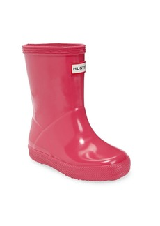 Hunter Infant's, Toddler's & Kid's Gloss Original Rubber Rain Boots