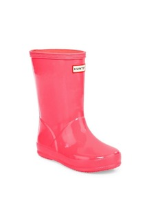 Hunter Kid's First Classic Seasonal Gloss Rain Boots