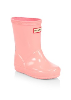 Hunter Kid's First Classic Seasonal Gloss Rain Boots