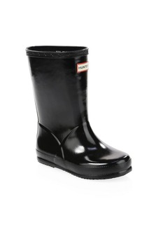 Hunter Kid's First Gloss Rain Boots