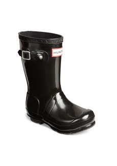Hunter Kid's Gloss Original Tall Rubber Rain Boots