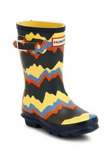 Hunter Kid's Original Big Storm Stripe Rain Boots