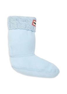 Hunter Kid's Six-Stitch Boot Socks