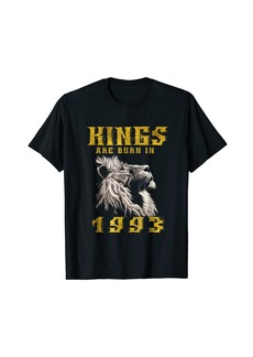 Hunter Kings are Born in 1993 T-Shirt 25 yrs old Bday 25th Birthday