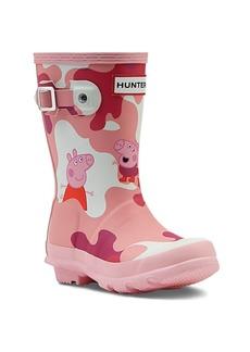 Little Girl's Hunter x Peppa Pig Print Original Rain Boots