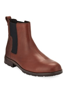 Hunter Men's Original Refined Leather Chelsea Boot