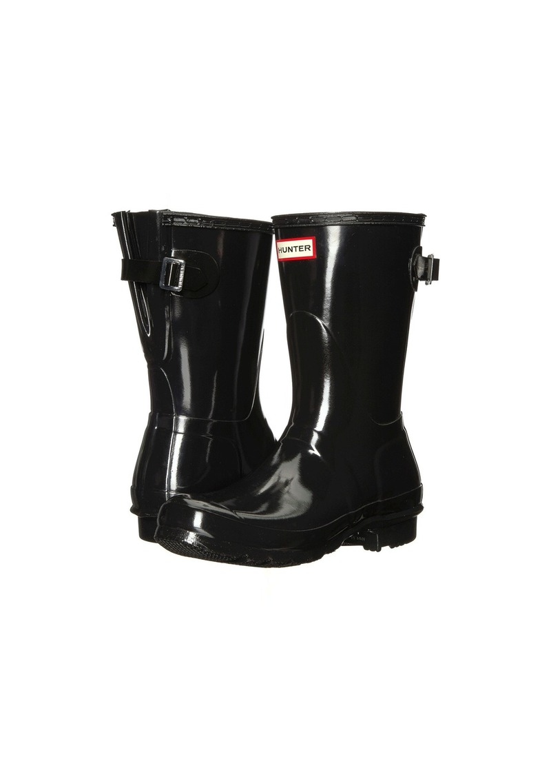 Hunter Original Back Adjustable Short Gloss Rain Boots