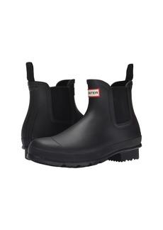Hunter Original Dark Sole Chelsea Boots
