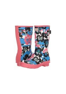 Hunter Original Floral Stripe Short Rain Boot