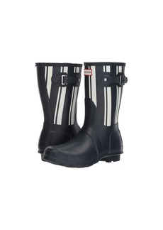 Hunter Original Garden Stripe Short Rain Boots