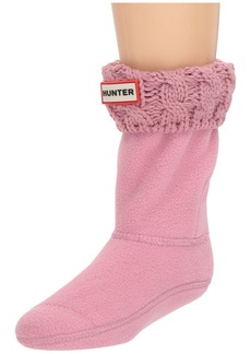 Hunter Original Kids' Half-Cardigan 6 Stitch Cable Boot Socks (Toddler/Little Kid/Big Kid)