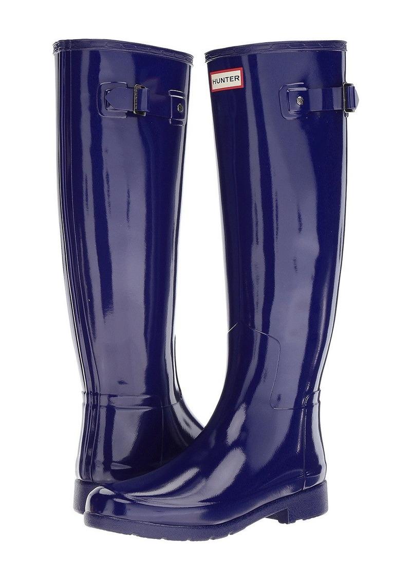 62ed1831748 On Sale today! Hunter Original Refined Gloss Rain Boots