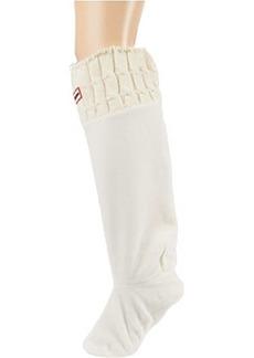 Hunter Original Tall Boot Sock 6 Stitch Cable Acrylic