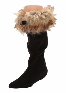 Hunter Original Tall Boot Sock Faux Fur Cuff