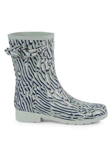 Hunter Printed Rubber Rain Boots